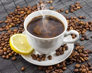 weight loss trick with coffee lemon
