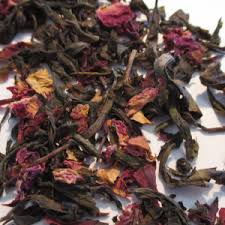 rose and oolong tea