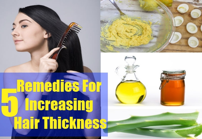natural home remedies for thicker hairs | 4 best home remedies