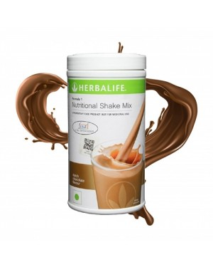 Herbalife Formula 1 Nutritional Shake Mix, 0.5 kg Dutch Chocolate