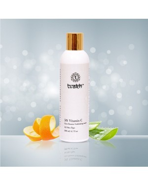 Tvakh 5% Vitamin C Glow Booster Exfoliating water 200ML Buy Online