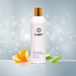 Tvakh 5% Vitamin C Glow Booster Exfoliating water 200ML
