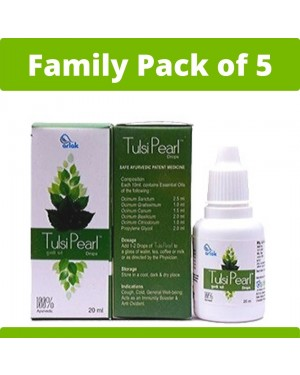 Arlak Tulsi Pearls Family Pack of 5