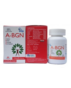 Arlak A-BGN Capsules ( Best Capsules For Blood Glucose Normalizing)