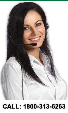 Our customer service is available 24/7. Call us at 1800-313-6263.